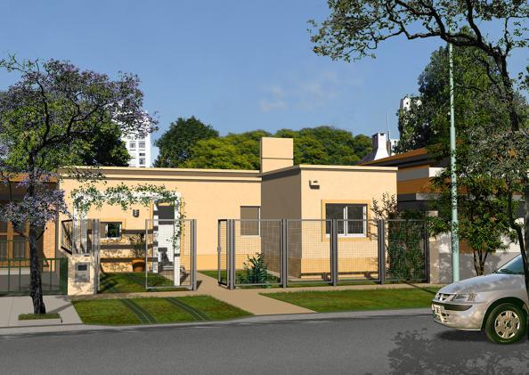 cl sica techo plano 2 dormitorio 10m aberturas maglei On modelo de casa clasica techo plano