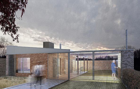 Cl sica techo inclinado 1 dormitorio 10m aberturas for Casa clasica procrear 1 dormitorio