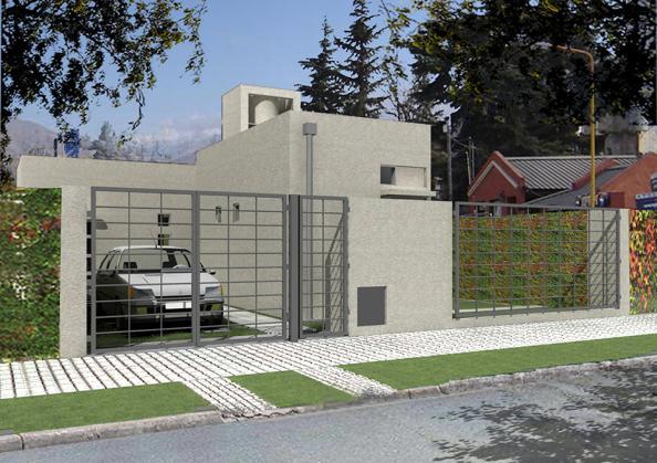 Planes de viviendas maglei for Casa procrear clasica techo inclinado 3 dormitorios